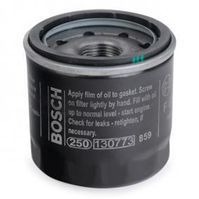 Oil filter (0 986 452 061) producer BOSCH for MAZDA 2 (DY) year of manufacture 04/2003, 111 HP Online Shop