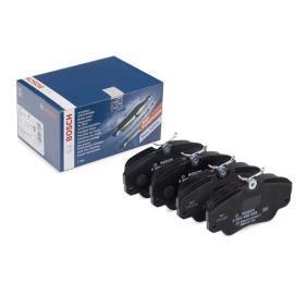Bremsbelagsatz, Scheibenbremse BOSCH Art.No - 0 986 460 939 OEM: 1605004 für OPEL, CHEVROLET, SAAB, CADILLAC, VAUXHALL kaufen