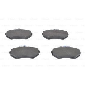 357698151D für VW, AUDI, SKODA, SEAT, Bremsbelagsatz, Scheibenbremse BOSCH (0 986 460 943) Online-Shop