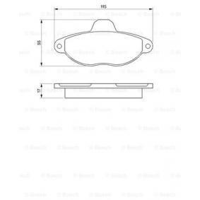 Tappo Monoblocco Art. No: 0 986 460 968 fabbricante BOSCH per FIAT CINQUECENTO conveniente
