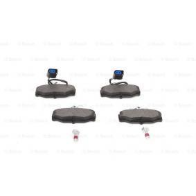 BOSCH Bremsbelagsatz, Scheibenbremse 1111287 für FORD bestellen