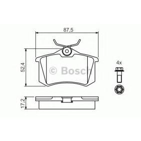 Детонационен датчик BOSCH (0 986 461 769) за VW GOLF Цени