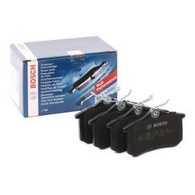 Bremsbelagsatz, Scheibenbremse BOSCH Art.No - 0 986 466 683 OEM: 440603511R für RENAULT, DACIA, DS, RENAULT TRUCKS, SANTANA kaufen