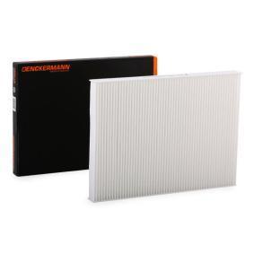 Filter, Innenraumluft DENCKERMANN Art.No - M110001 OEM: 1H0091800 für VW, AUDI, SKODA, SEAT, PORSCHE kaufen