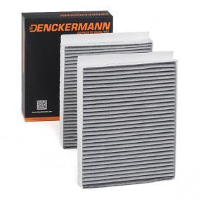 Filter, Innenraumluft DENCKERMANN Art.No - M110839K OEM: 64119163329 für MERCEDES-BENZ, BMW, AUDI, MINI, ALPINA kaufen