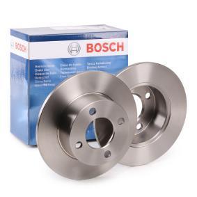 BOSCH Bremsscheibe 0 986 478 019 für AUDI 80 2.0 E 16V 140 PS kaufen
