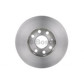 BOSCH Disco de travão Eixo dianteiro, Ø: 236mm, Cheio, oleado 4047024227187 classificação