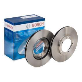 BOSCH Disco de travão Eixo dianteiro, Ø: 282,5mm, ventilado, interior ventilado, oleado 0 986 478 097 de qualidade original