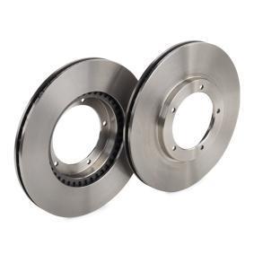 BOSCH Disco de travão Eixo dianteiro, Ø: 282,5mm, ventilado, interior ventilado, oleado 4047024203433 classificação