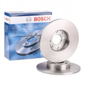 500 (312) BOSCH Disco de freno 0 986 478 343