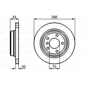 BOSCH BMW 5er Filter-Satz (0 986 478 426)