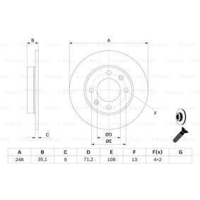 PEUGEOT 307 1.4 16V 88 CV año de fabricación 11.2003 - Lámpara para Faros de Luz Antiniebla (0 986 478 608) BOSCH Tienda online
