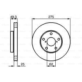 BOSCH TOYOTA RAV 4 Windshield washer pump (0 986 479 111)