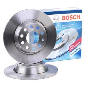5Q0615601G за VW, AUDI, SKODA, SEAT, Спирачен диск BOSCH (0 986 479 247) Онлайн магазин