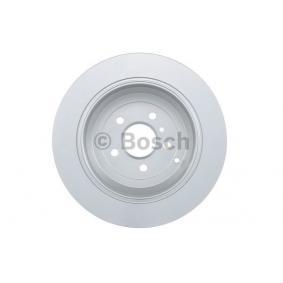 Спирачен диск BOSCH Art.No - 0 986 479 330 OEM: A1644231212 за MERCEDES-BENZ, DAIMLER купете