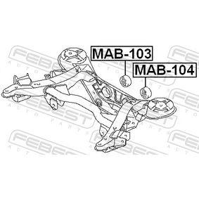 FEBEST Lagerung, Differential MR554076 für MITSUBISHI bestellen
