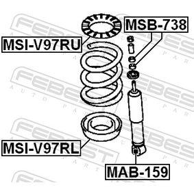 FEBEST Boccola, Ammortizzatore MR566276 per MITSUBISHI acquisire