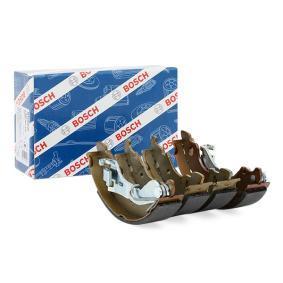 PUNTO (188) BOSCH Drum brake shoe support pads 0 986 487 596