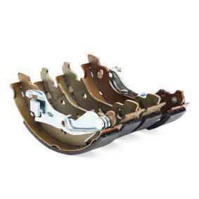 BOSCH Brake shoe set 0 986 487 596