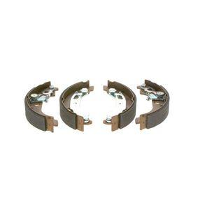 PANDA (169) BOSCH Drum brake shoe support pads 0 986 487 669