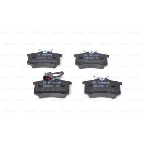 Bremsbelagsatz, Scheibenbremse BOSCH Art.No - 0 986 494 025 OEM: 1343513 für VW, FORD, SEAT, RENAULT TRUCKS, SATURN kaufen