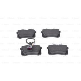 BOSCH Bremsbelagsatz, Scheibenbremse 1343513 für VW, FORD, SEAT, RENAULT TRUCKS, SATURN bestellen
