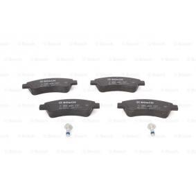 BOSCH 0 986 494 027 Brake Pad Set, disc brake OEM - 425341 CITROËN, OPEL, PEUGEOT, PIAGGIO, CITROËN/PEUGEOT, TVR, GLASER, A.B.S., OEMparts, DS cheaply