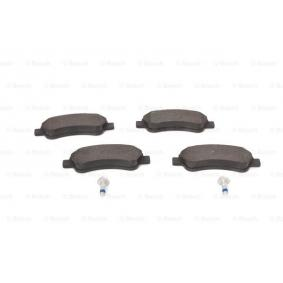 BOSCH Brake Pad Set, disc brake (0 986 494 027) at low price