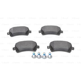 BOSCH Bremsbelagsatz, Scheibenbremse 1K0698451 für VW, MERCEDES-BENZ, OPEL, BMW, AUDI bestellen