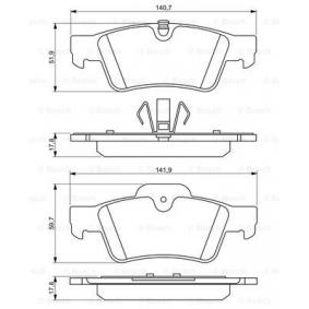 Ремонтен комплект, спирачно цилиндърче на колелото (0 986 494 256) производител BOSCH за MERCEDES-BENZ M-класа (W164) година на производство на автомобила 07.2005, 224 K.C. Онлайн магазин