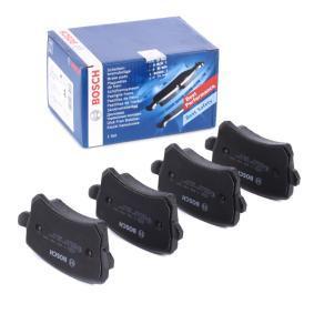 3C0698451D für VW, AUDI, SKODA, SEAT, HONDA, Bremsbelagsatz, Scheibenbremse BOSCH (0 986 494 344) Online-Shop