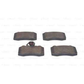 BOSCH Bremsbelagsatz, Scheibenbremse 1ML698151 für VW, AUDI, SKODA, SEAT bestellen