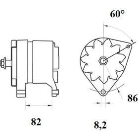 Генератор MG 216 MAHLE ORIGINAL