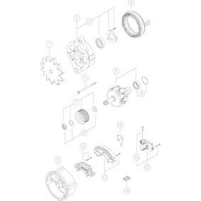 MAHLE ORIGINAL Алтернатор генератор MG 420