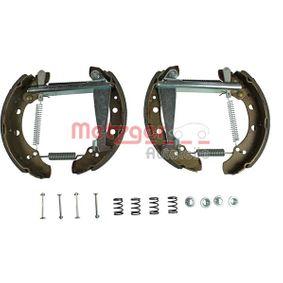 METZGER Bremsbackensatz 6Q0698525B für VW, AUDI, SKODA, SEAT bestellen