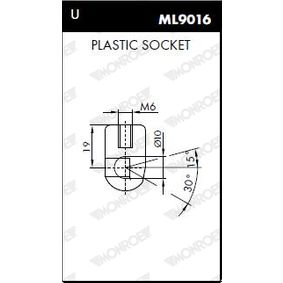 Kofferraum Stoßdämpfer ML5152 MONROE