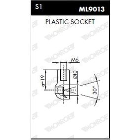 Gasfeder Motorhaube ML5688 MONROE