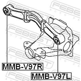 FEBEST Lagerung, Differential 3517A027 für MITSUBISHI bestellen