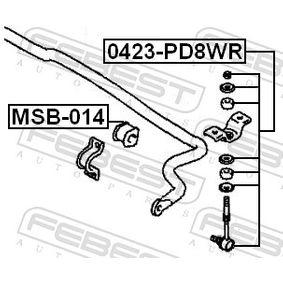 Silent block barra stabilizzatrice MSB-014 FEBEST