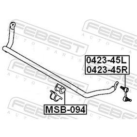 FEBEST Supporto, Stabilizzatore MR150095 per MITSUBISHI acquisire