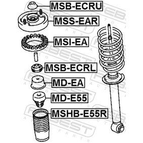 FEBEST Distanziale a tubo, Ammortizzatore MR235628 per HYUNDAI, KIA, VOLVO, MITSUBISHI, CHRYSLER acquisire