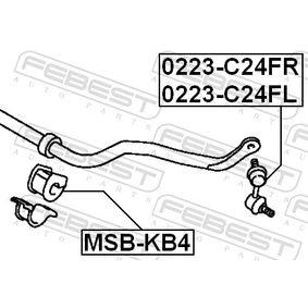 Silent block barra stabilizzatrice MSB-KB4 FEBEST