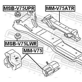 Boccola assale MSB-V75LWR FEBEST