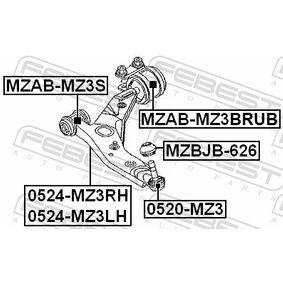 FEBEST Lagerung, Lenker 1570284 für FORD, MAZDA, VOLVO, FORD USA bestellen
