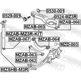 FEBEST Anschlagpuffer, Federung BP4K281B0A für FORD, MAZDA bestellen