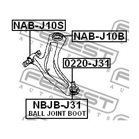 FEBEST NAB-J10B bestellen