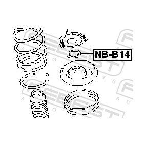 Βάση στήριξης αμορτισέρ NB-B14 FEBEST