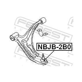 Σετ επικευής, άρθρωση-οδηγός NBJB-2B0 FEBEST