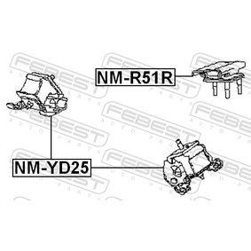 Buy Engine Mount for NISSAN Navara Pickup (D40) 2 5 dCi 4WD, 174 HP