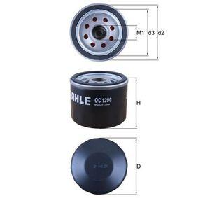 MAHLE ORIGINAL HONDA CR-V Filtro de aceite (OC 1290)